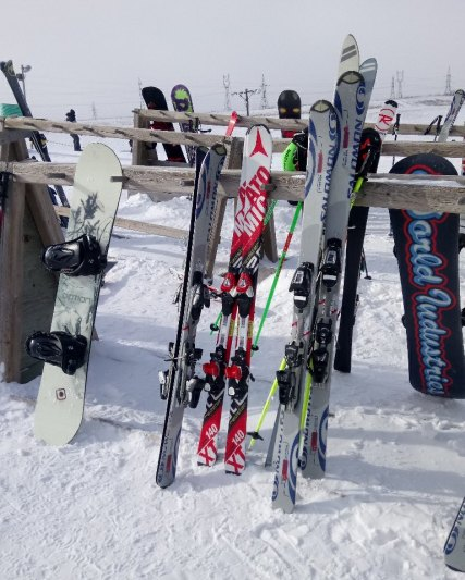 skis at springhill