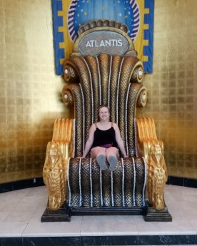 Big chair at the Atlantis Casino