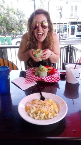 """""""The Sand Bar"""" and my delicious mac & cheese"""